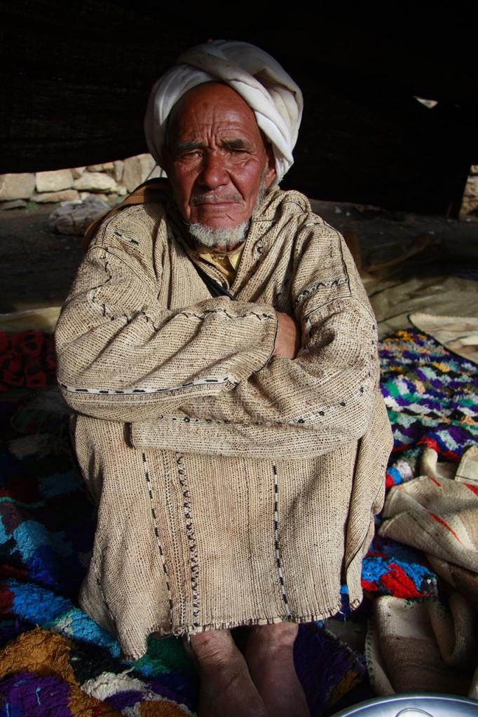 trek chez les berberes au maroc