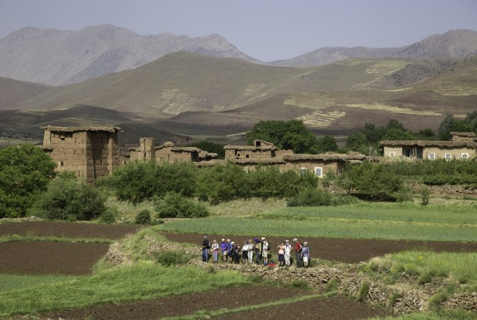 randonnee valle bouguemez maroc