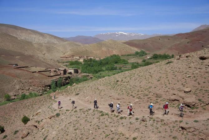 trekking haut atlas maroc
