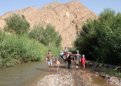 randonnee famille maroc