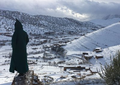 winter atlas morocco